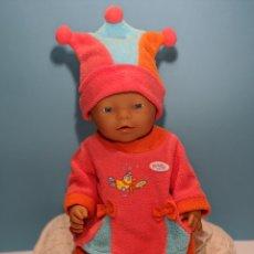 Muñecas Modernas: BABY BORN CONJUNTO TRES PIEZAS - ZAPF CREATION. Lote 203447535