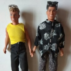 Muñecas Modernas: MUÑECOS DE NEW KIDS ON THE BLOCK HASBRO NO BARBIE. Lote 203838836