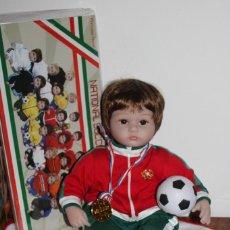Muñecas Modernas: MUÑECO NATIONAL SOCCER TEAN - PORTUGAL - PRINCESS ANNA. Lote 204605957