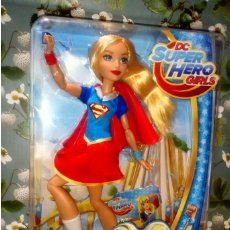 Muñecas Modernas: PRECIOSA MUÑECA SUPERGIRL DE LAS DC SUPER HERO GIRLS, NUEVA, EN CAJA, MATTEL - 2016. Lote 204621902