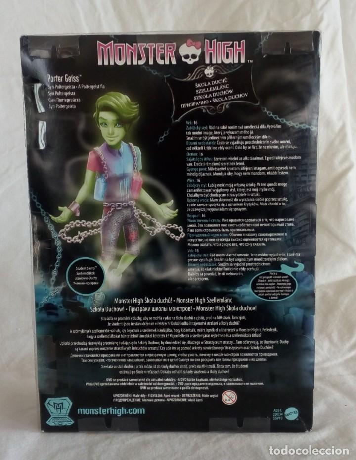 Muñecas Modernas: Muñeca Monster High Porter Geiss - Foto 5 - 205736236