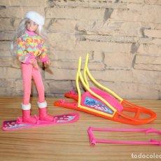 Muñecas Modernas: MUÑECA SINDY AVENTURA EN LA NIEVE - SNOW ADVENTURA EXPEDITION POLAIRE - AÑO 1995. Lote 206307232