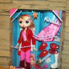 Muñecas Modernas: MIRANDA - DIVASTARZ - MATTEL - AÑO 2002 - DESCATALOGADA - NUEVA A ESTRENAR, EN SU CAJA. Lote 206346191