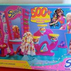 Muñecas Modernas: PELUQUERÍA MELENAS SINDY 1994.NUEVA EN CAJA SIN ABRIR.. Lote 206378421