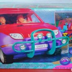 Muñecas Modernas: SINDY MULTI CARAVAN 4X4 CASA CARAVANA VACACIONES 1994 NUEVA EN CAJA SIN ABRIR.. Lote 206380158