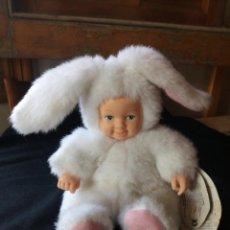 Bambole Moderne: MUÑECO BABY BUNNIES BY ANNE GEDDES CON ETIQUETA ORIGINAL,CONEJITO. Lote 206411317