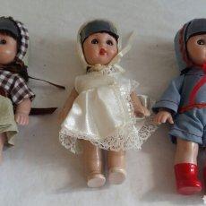 Muñecas Modernas: LOTE 3 MUÑECAS DE MARIQUITA PEREZ . NUAVAS EN PERFECTO ESTADO. Lote 206481053