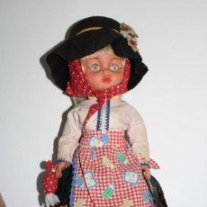 Muñecas Modernas: MUÑECA CON EL TRAJE REGIONAL DEL ALGARVE - PORTUGAL - AÑOS 60. Lote 206537543
