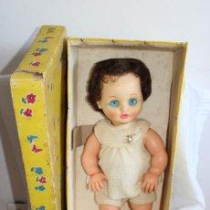 Muñecas Modernas: MUÑECA DE MARCA BELLA - EN CAJA ORIGINAL - FRANCE - AÑOS 60. Lote 206542215