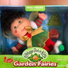 Muñecas Modernas: CABAGGE PATCH KIDS GARDEN FAIRIES LEONA SOPHIE BORN 2 NOVEMBER NEW NUEVA 2000. Lote 207287887