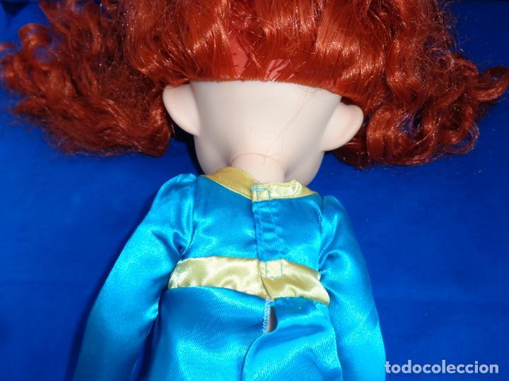 Muñecas Modernas: DISNEY - MUÑECA MÉRIDA BRAVE DISNEY ANIMATORS MIDE UNOS 40 CM, VER FOTOS! SM - Foto 6 - 207559452