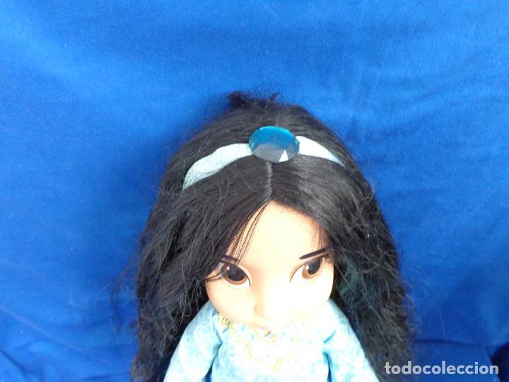 Muñecas Modernas: DISNEY - BONITA MUÑECA JASMINE DISNEY ANIMATORS MIDE UNOS 40 CM, VER FOTOS! SM - Foto 10 - 207560605