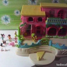 Muñecas Modernas: POLLY POCKET BLUEBIRD 2000 PETLAND RANCHO. Lote 210455927