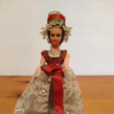 Muñecas Modernas: ANTIGUA MUÑECA CELULOIDE FRANCESA CON VESTIDO AÑOS 60 OJOS DURMIENTES. Lote 211525822