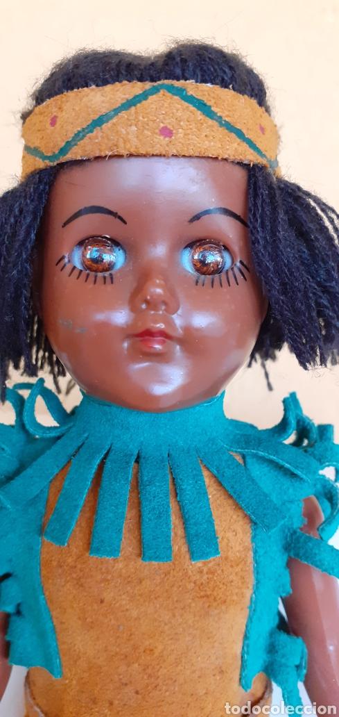 Muñecas Modernas: MUÑECA INDIA DE CELULOIDE CREO - Foto 4 - 212159980