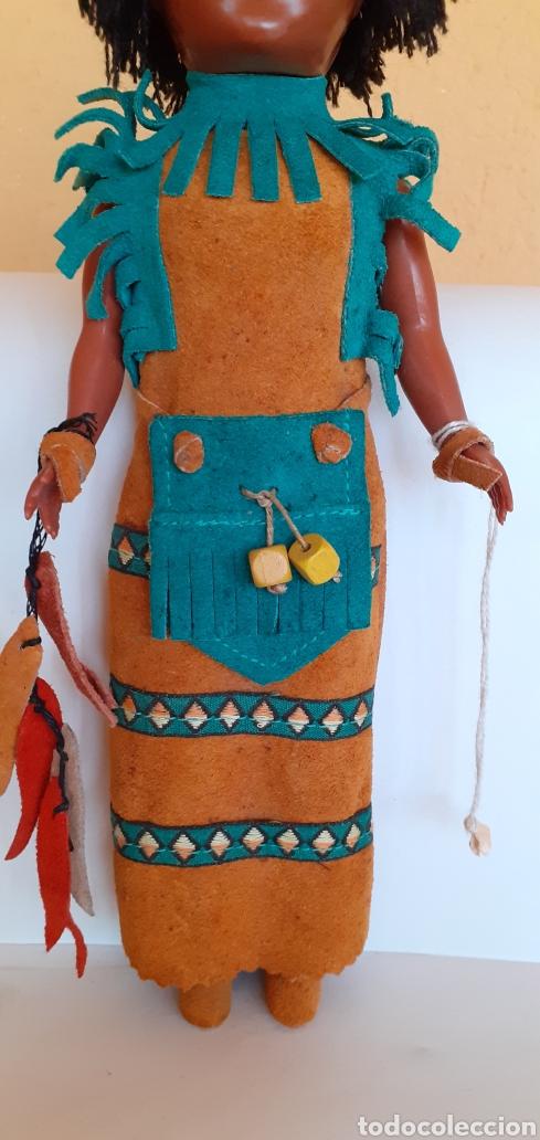 Muñecas Modernas: MUÑECA INDIA DE CELULOIDE CREO - Foto 5 - 212159980
