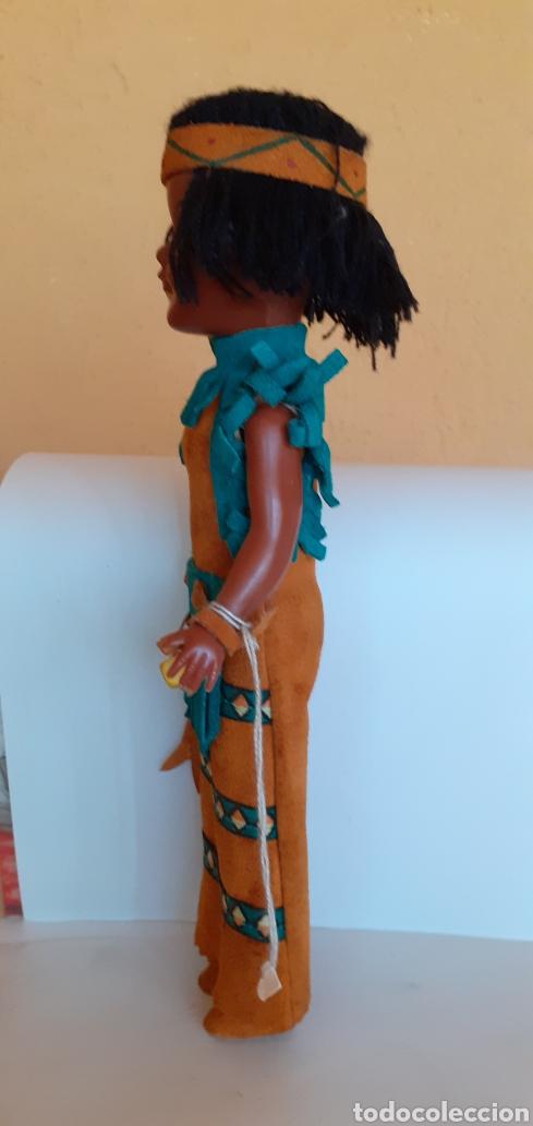 Muñecas Modernas: MUÑECA INDIA DE CELULOIDE CREO - Foto 6 - 212159980
