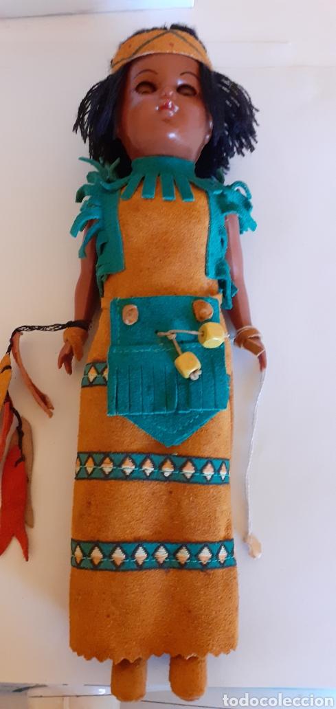 Muñecas Modernas: MUÑECA INDIA DE CELULOIDE CREO - Foto 10 - 212159980