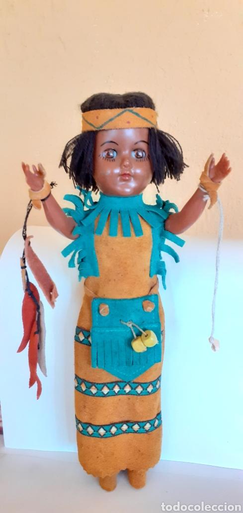 Muñecas Modernas: MUÑECA INDIA DE CELULOIDE CREO - Foto 2 - 212159980