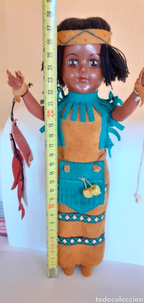 Muñecas Modernas: MUÑECA INDIA DE CELULOIDE CREO - Foto 3 - 212159980