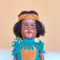 Muñecas Modernas: MUÑECA INDIA DE CELULOIDE CREO. Lote 212159980