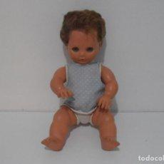 Muñecas Modernas: MUÑECA BEBE LLORON, PIEL DE GOMA BLANDITA, AÑOS 60. Lote 212618258