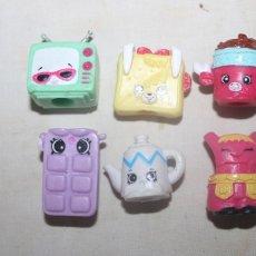 Bonecas Modernas: 6 PEQUENITOS MUÑECOS DE GOMA SUAVE. Lote 214029951