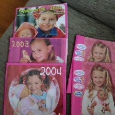 Muñecas Modernas: CATÁLOGOS BABY BORN 2002-2003-2004 -2008. Lote 214400587