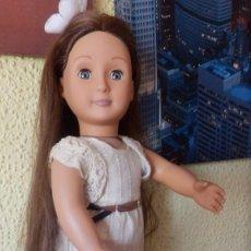 Muñecas Modernas: MUÑECA AMERICANA OUR GENERATION BATTAT DE PELO LARGUÍSIMO. Lote 214466206