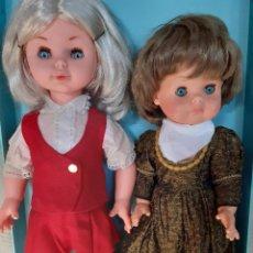 Muñecas Modernas: DOS MUÑECAS, CREO QUE ITALUANAS AÑOS 60-70. Lote 214577936