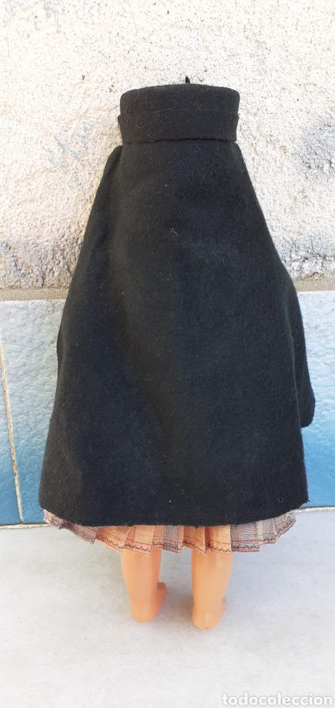 Muñecas Modernas: MUÑECA PORTUGAL NAZARET DE CELULOIDE ANTIGUA 34 CM APROXIMADAMENTE REGIONAL - Foto 4 - 214583895