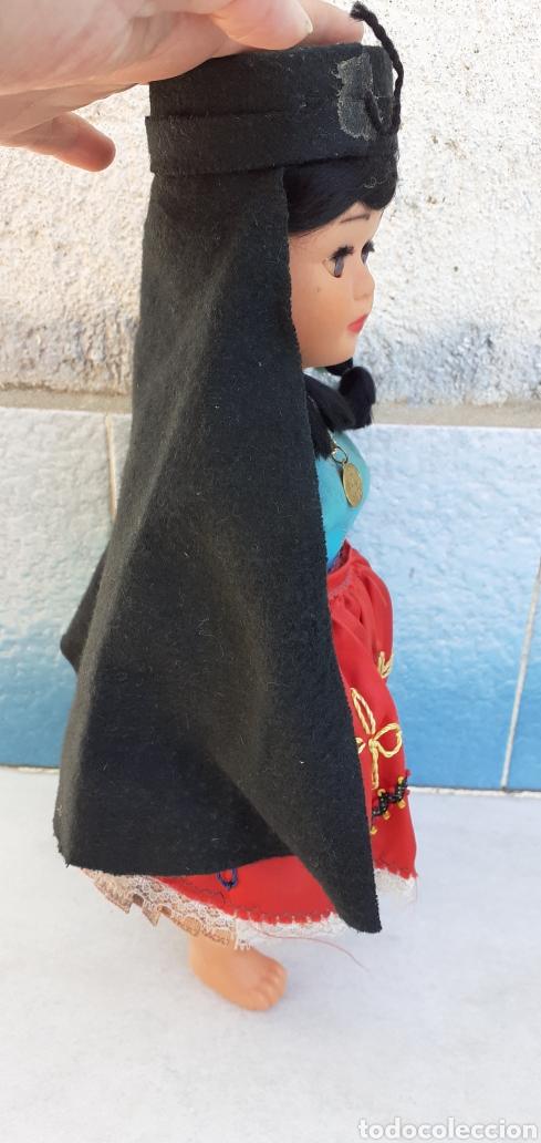 Muñecas Modernas: MUÑECA PORTUGAL NAZARET DE CELULOIDE ANTIGUA 34 CM APROXIMADAMENTE REGIONAL - Foto 5 - 214583895