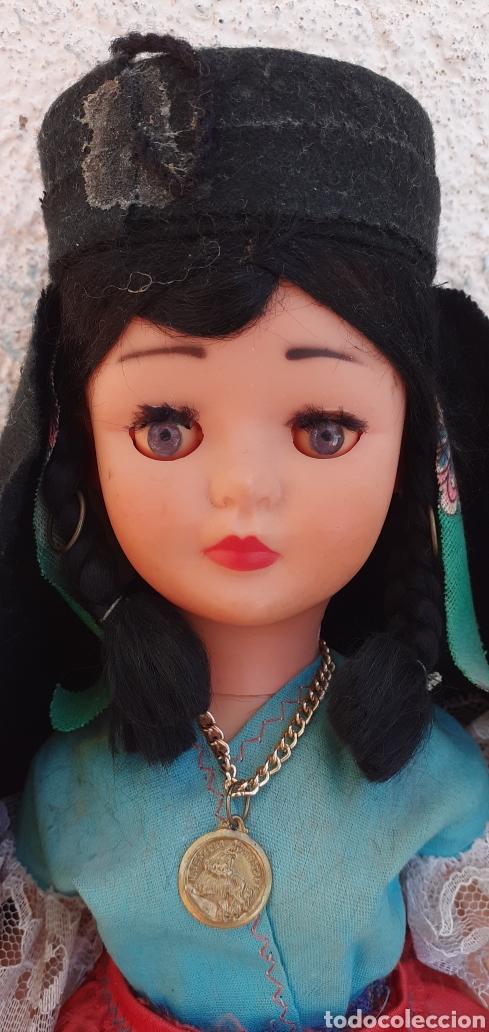 Muñecas Modernas: MUÑECA PORTUGAL NAZARET DE CELULOIDE ANTIGUA 34 CM APROXIMADAMENTE REGIONAL - Foto 6 - 214583895