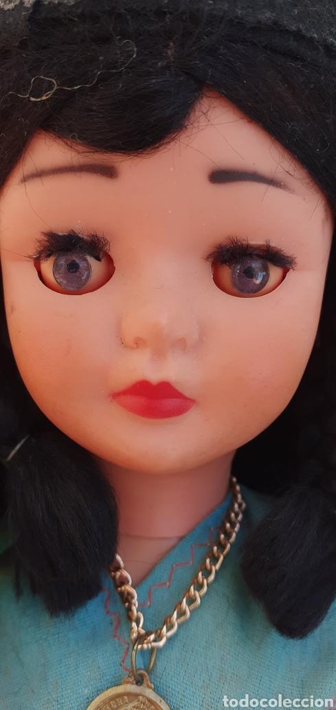 Muñecas Modernas: MUÑECA PORTUGAL NAZARET DE CELULOIDE ANTIGUA 34 CM APROXIMADAMENTE REGIONAL - Foto 7 - 214583895