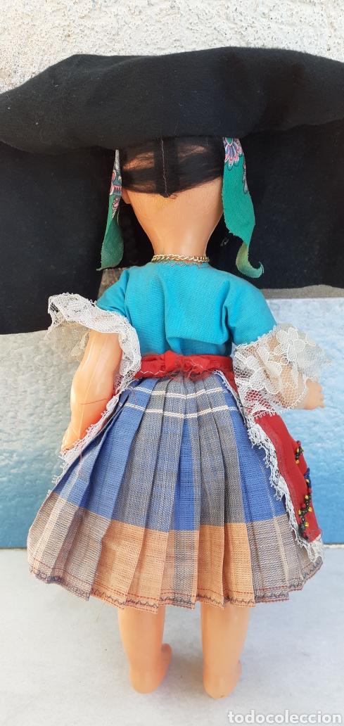 Muñecas Modernas: MUÑECA PORTUGAL NAZARET DE CELULOIDE ANTIGUA 34 CM APROXIMADAMENTE REGIONAL - Foto 8 - 214583895