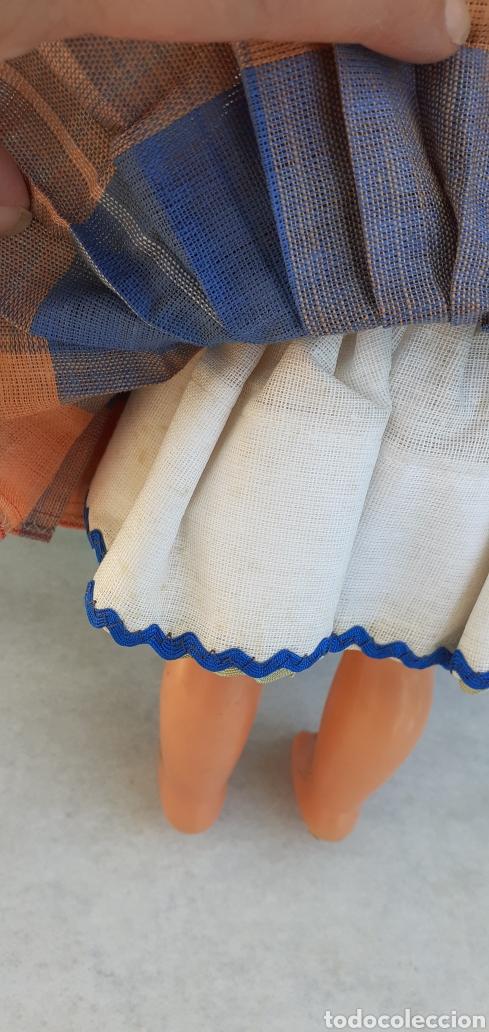 Muñecas Modernas: MUÑECA PORTUGAL NAZARET DE CELULOIDE ANTIGUA 34 CM APROXIMADAMENTE REGIONAL - Foto 11 - 214583895