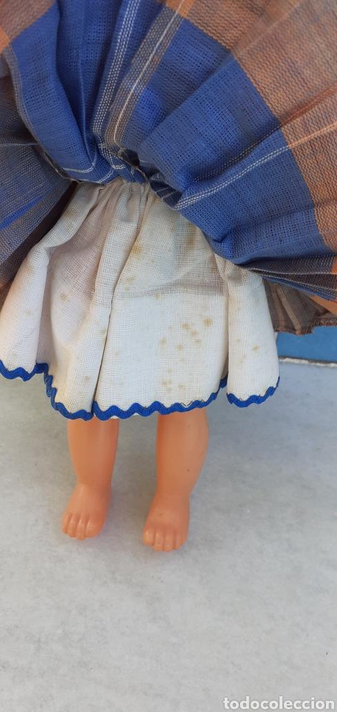 Muñecas Modernas: MUÑECA PORTUGAL NAZARET DE CELULOIDE ANTIGUA 34 CM APROXIMADAMENTE REGIONAL - Foto 16 - 214583895