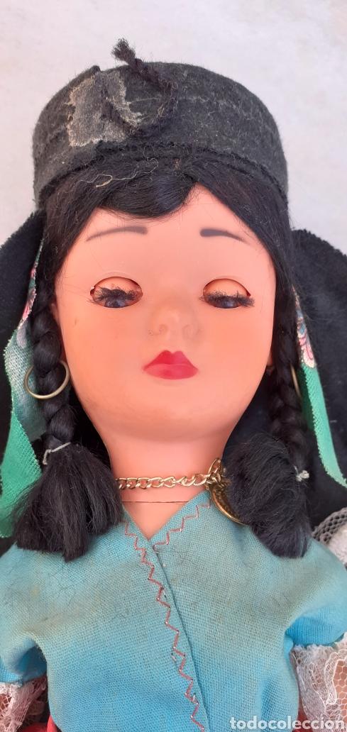 Muñecas Modernas: MUÑECA PORTUGAL NAZARET DE CELULOIDE ANTIGUA 34 CM APROXIMADAMENTE REGIONAL - Foto 19 - 214583895