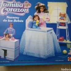 Muñecas Modernas: FAMÍLIA CORAZON CUNA DE LOS BEBES 7937 NURSERY DE LOS BEBES A ESTRENAR. Lote 218684828
