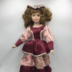 Muñecas Modernas: ANTIGUA MUÑECA DE PORCELANA 41 CM APROX. Lote 218755560