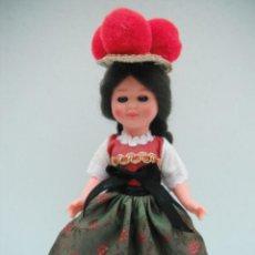 Muñecas Modernas: MUÑECA CON TRAJE TIPICO DE LA SELVA NEGRA - ALEMANIA .. Lote 218951898