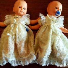 Muñecas Modernas: PAREJA DE MUÑECAS ANTIGÜAS. Lote 219851376