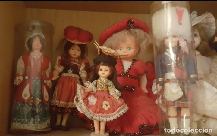 LOTE DE 6 ANTIGÜAS MUÑECAS VARIADAS (Juguetes - Muñeca Extranjera Moderna - Otras Muñecas)