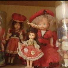 Muñecas Modernas: LOTE DE 6 ANTIGÜAS MUÑECAS VARIADAS. Lote 219859340
