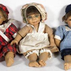Muñecas Modernas: 3 MUÑECOS GESTITOS D'ANTON JOS 94. Lote 241864815