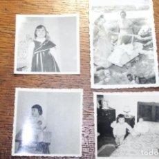 Bambole Moderne: 4 ANTIGUAS FOTOS CON NIÑOS. Lote 224793350