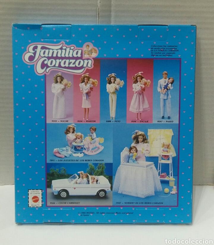 Muñecas Modernas: FAMILIA CORAZÓN. VESTIDO MARITIM. NUEVO EN CAJA. MATTEL. 1986. REF 9594. LA MODA DE LA FAMILIA. - Foto 2 - 225909285