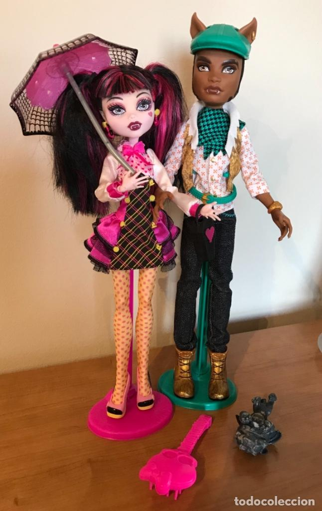 MONSTER HIGH DRACULAURA Y CLAWD WOLF SCHOOL'S OUT (Juguetes - Muñeca Extranjera Moderna - Otras Muñecas)