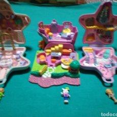Muñecas Modernas: LOTE DE POLLY POCKET. Lote 228190096
