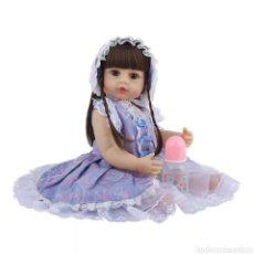 Muñecas Modernas: MUÑECA REBORN SILICONA. Lote 228948715